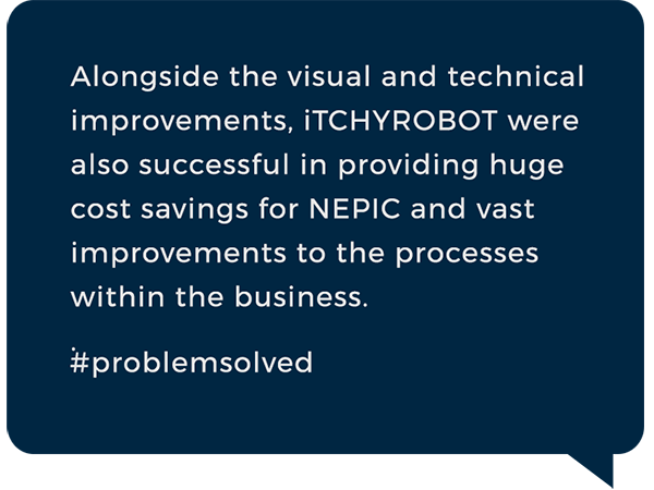 iTCHYROBOT Solutions - Nepic quote